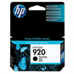 CARTUCHO HP 920 PRETO CD971AL
