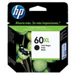CARTUCHO HP 60XL PRETO CC641WB 13,5ML*