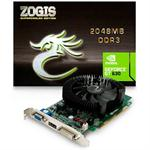 PLACA VIDEO 2GB ZOGIS NVIDIA GT630 DDR3 PCIE 128B