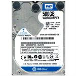 HD NOTEBOOK 500GB WESTERN DIGITAL 5400RPM