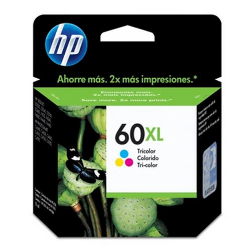 CARTUCHO HP 60XL COLOR CC644WB