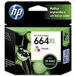 CARTUCHO HP 664 XL COLOR F6V30AB 8 ML*