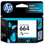 CARTUCHO HP 664 COLOR  F6V28AB