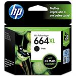 CARTUCHO HP 664 XL PRETO F6V31AB