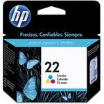 CARTUCHO HP 22 COLOR C9352AB 6 ML*